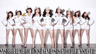 [MP3 DL] SNSD - Tell me your wish / Genie (SBS Gayo DaeJun Special)