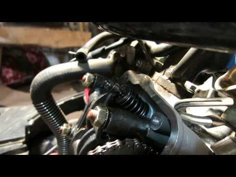Регулировка клапанов автомобиля Ваз 11113 Ока