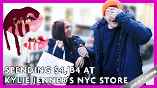 One of Chris Klemens's most viewed videos: SPENDING $4,134 AT THE NYC KYLIE JENNER SHOP | Chris Klemens