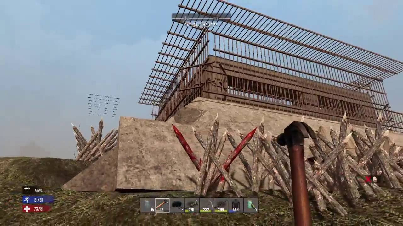 Days To Die Building With Concrete