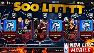 Top 10 Incredible Packs in NBA live Mobile!!! #2