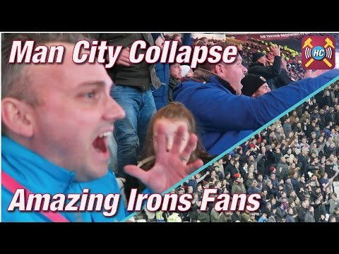 West Ham v Man City Vlog | Amazing Crowd | 0-5 Thrashing | Highlights