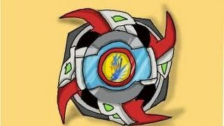 How to draw a beyblade