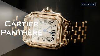 Cartier : la montre Panthère, plus éblouissante que jamais