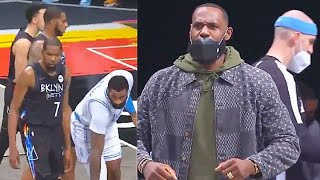 LeBron James IMPRESSED By Andre Drummond & Lakers Destroying Nets! Lakers vs Nets