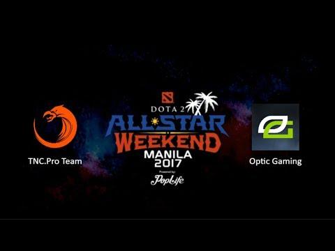 TNC.Pro Team vs OpticGaming Game 1 BO3 | Dota2 AllStar Weekend