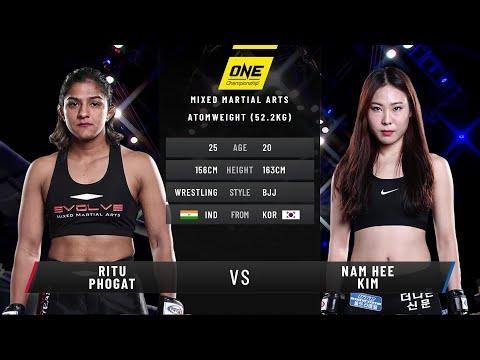 Ritu Phogat vs. Nam Hee Kim   Full Fight Replay