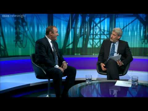 NEWSNIGHT: Ed Davey's wife sets the thermostat