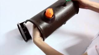 Log & Roll Paper Towel Holder | Qualy