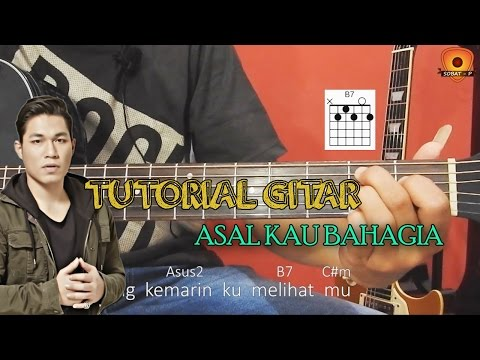 Tutorial Gitar Armada - Asal Kau Bahagia [Full Intro, Petikan & Melodi By Sobat P]