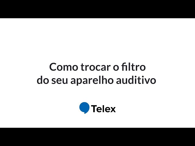 🦻Como trocar o filtro do seu aparelho auditivo?