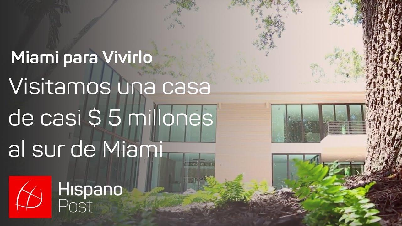 Visitamos una casa de casi $ 5 millones al sur de Miami