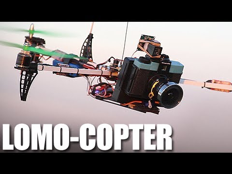 Flite Test - Lomo-Copter - Diana F+ Tricopter Camera - YouTube