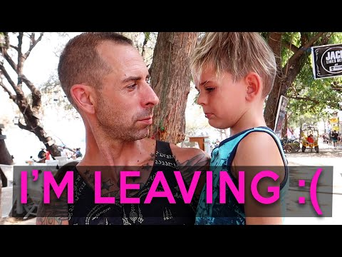 HE LEFT US!  Mom and 3 kids left in Lombok - Family Travel Vlog