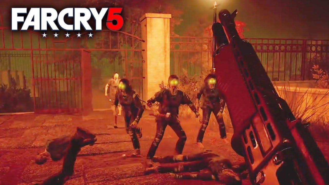 Far Cry 5 New Zombies Gameplay Trailer Vietnam War Mars Dlc Map Editor Arcade Walkthrough Youtube
