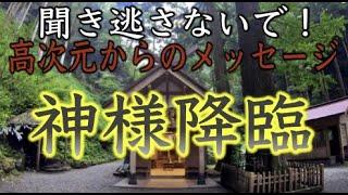 【高千穂秋元神社参拝】閲覧注意※神降臨!? 高次元からのメッセージ(Akimoto Shrine Miyazaki Japan)#77