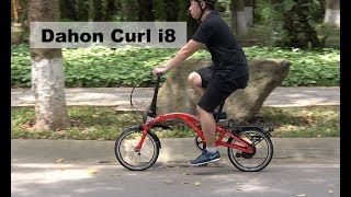 DAHON Curl i8 Folding Bike Review - The Brompton Killer?