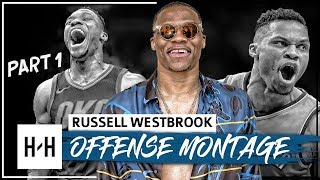 Russell Westbrook UNREAL Montage, Full Offense Highlights 2017-2018 (Part 1) - BEAST Mode!