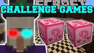 Minecraft: BABA YAGA CHALLENGE GAMES - Lucky Block Mod - Modded Mini-Game