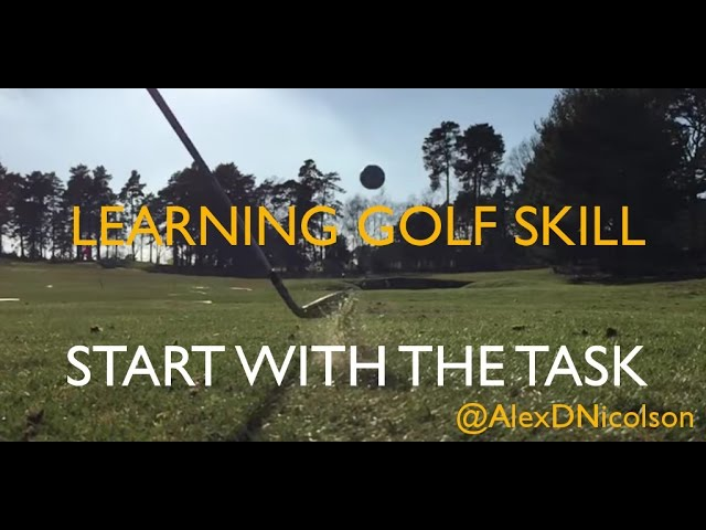Start with the task