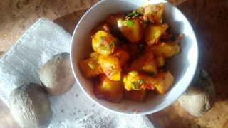 Картофель по бомбейски  Индийская кухня