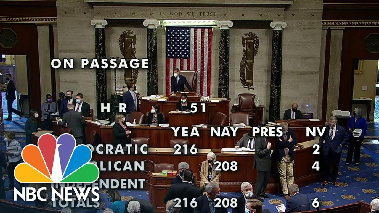 House Democrats Pass Bill To Make D.C. The 51st State