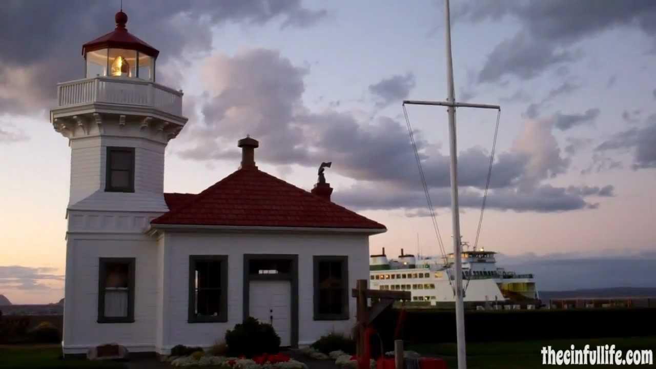sunset at mukilteo lighthouse park 9 10 12 youtube