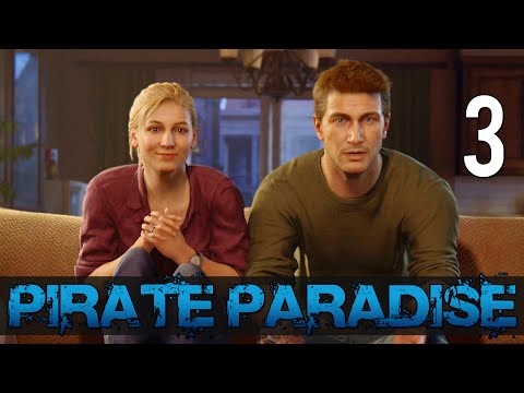[3] Pirate Paradise (Let's Play Uncharted 4: A Thief's End w/ GaLm)