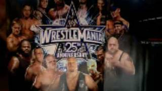 WRESTLEMANIA 25 THEME SHOOT TO THRILL  AC/DC