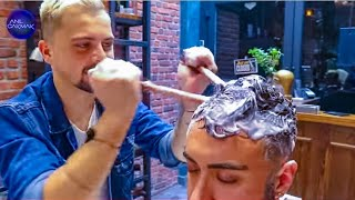 ASMR MASSAGE THERAPY IN REAL BARBER SHOP ⭐ YOUR DAILY SLEEP PILL 💊