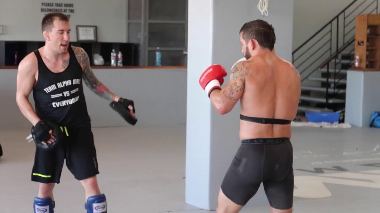 UFC TRAINING WITH CHAD