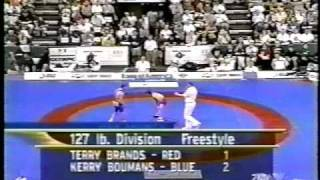 Terry Brands vs Boumans (2000 Olympic Trial finals)