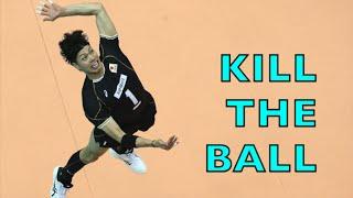 Kunihiro Shimizu 清水邦広 (part 2) - Japan vs Australia FIVB 2015 World Cup Volleyball Highlights