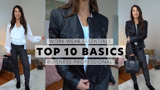 Work Essentials - How To Look Stylish at Work