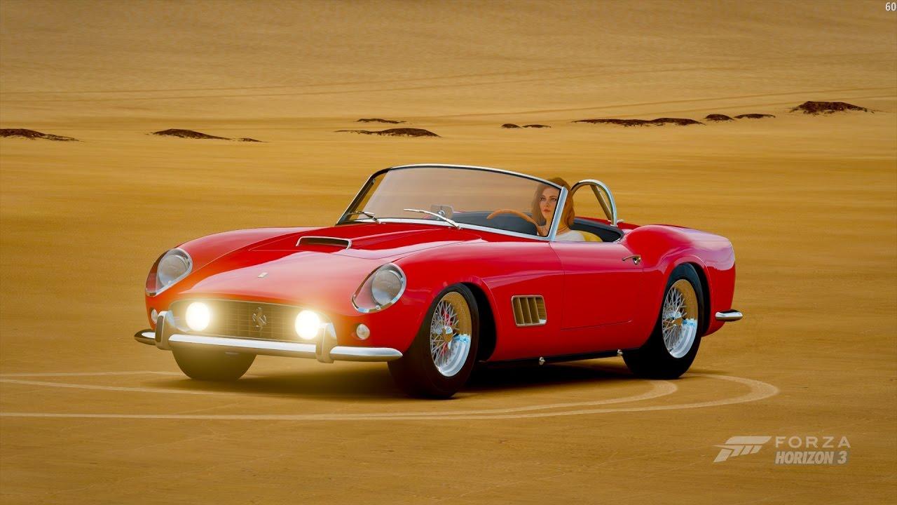 Ferrari 250 California 1957 Forza Horizon 3 Youtube