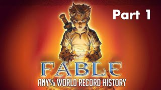 Speed Docs: Fable: The Lost Chapters - Any% World Record History
