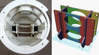 XRobots - 3D Printed Star Wars R2-D2 R6 Droid Part 3 - Looking at the Centre Foot Mechnism
