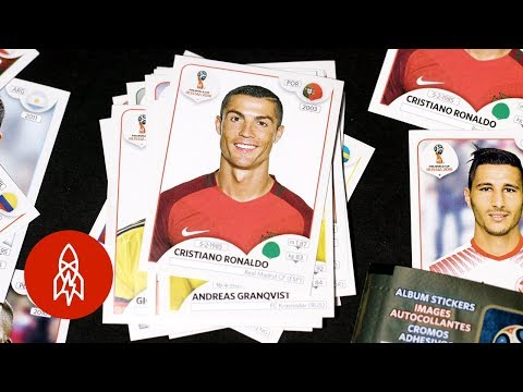 Inside World Cup's Sticker Collecting Craze
