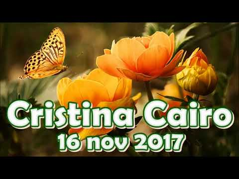 Cristina Cairo 16/11/2017 - Intolerancia à lactose e ao gluten