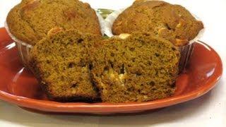 Pumpkin White Chocolate Chip Muffins -- Lynn's Recipes