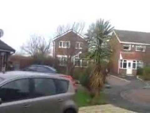 Windstorm (Kyrill) in Britain