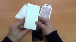 Оригинальный чехол книжка для Samsung Galaxy A3 SM-A310 (2016) Flip Wallet обзор