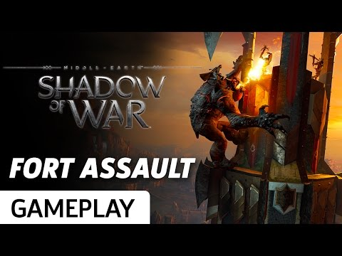 Middle-earth: Shadow Of War - New Fort Assault Gameplay