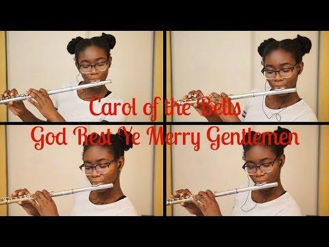 Carol of the Bells/God Rest Ye Merry Gentlemen - Flute Quartet | O. Henry