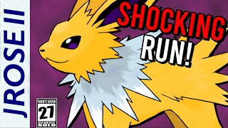 How Fast can you Beat Pokemon Red/Blue with Just a Jolteon?