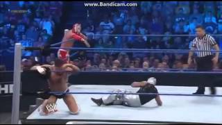 sin cara and rey mysterio vs cody rhodes and the miz  wwe smackdown;september 7,2012