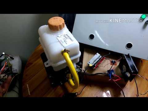 تشغيل صندوق انتاج الهيدروجين بطريقة الداره والمباشر من البطاريهhho Youtube