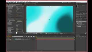 Фоновая подводная анимация в After Effects. Работа с фильтром Fractal Noise