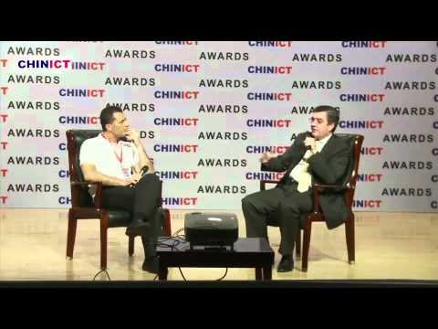 Blackberry China's Greg Shea at CHINICT