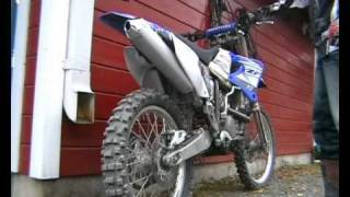 Yamaha yz 450 sound